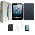 Apple iPad Mini Bundle | 16GB/32GB/64GB | Black/White | WiFi +4G | Open Box