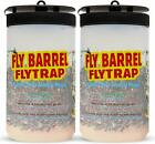 #1 Fly& Bug Trap - Flies Be Gone Fly Barrel 2 Pack Non Toxic -Catch Flies Easily