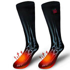 1 Pair Battery Heated Socks Rechargeable for Chronically Cold Feet Foot Warmers
