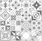 Grey Mosaic / Pattern Tile Stickers For 150Mm X 150Mm / 6 X 6 Inch Design G21