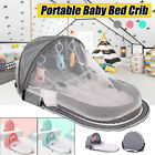 Foldable Baby Infant Mosquito Nets Tent Mattress Bed Cover Travel Portable Crib