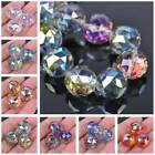 20mm Round Faceted Crystal Glass Loose Crafts Beads Wholesale lot Jewelry Making