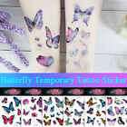 Watercolor Butterfly Temporary Tattoo Sticker Waterproof Children Body Art, $1.09 USD on eBay
