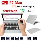 "8.9"" GPD P2 Max H-IPS Touch Screen for Inter m3-8100Y 16G 512G Mini Laptop Win10"