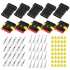 20 Kits 5Pin Way Car Super Seal Waterproof Electrical Wire Connector Plug USA