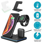 3in1 Qi Wireless Charger Charging Dock Station for Apple Watch / iPhone/ AirPods