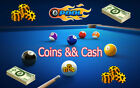 8 Ball Pool Coins || Cash (1Million - 2Billion Coins) || (1200 - 9840 Cash) $8.99 USD on eBay