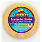 Tropical Arepa de Queso / Corn and Cheese Griddle Cake