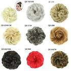 Hair Messy Bun Fake Extensions Styling Cover Scrunchies Elastic Bobbles Wavy San