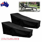 Waterproof Sun Lounge Chair Dust Cover Oxford Outdoor Garden Patio Furniture Qe