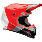 Thor Sector Bomber MX Offroad Helmet Red/Charcoal