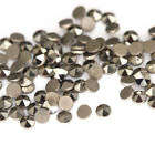 1000pcs 0.9 2mm Round Flat Back Loose Natural Marcasite Stone For DIY Jewelry