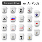 Earphone Case For Apple  AirPods 1/2 Transparent Cover Headphone Charger PC UK £2.99  on eBay