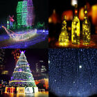 Solar Power LED String Fairy Lights Copper Wire Waterproof 10/20M Outdoor Garden