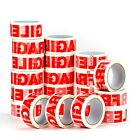 STRONG PACKING TAPE - CLEAR / FRAGILE 48mm x 50m Roll PARCEL PACKING TAPE