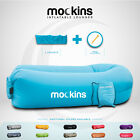 Mockins Inflatable Lounger Air Sofa Perfect for Beach Chair With Travel Bag