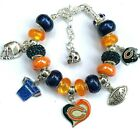 NFL CHICAGO BEARS DLX Crystal Charm Bracelet MITCH TRUBISKY FREE SHIPPING!!! $38.9 USD on eBay