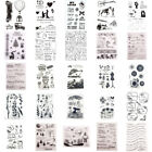 Kyпить Silicone Clear Stamps Rubber Stamp Embossing Stencil Xmas Scrapbook Album Craft на еВаy.соm