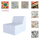 Custom Made Cover Fits IKEA LYCKSELE Chair Bed, Patterned Replace Sofa Cover