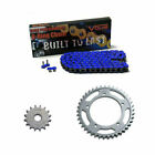 1991-1996 Triumph Trophy 1200 O-Ring Chain and Sprocket Kit - Blue $95.99 USD on eBay