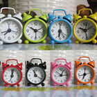 Mini Alarm Clock Bell Alarm Clock Analog Desk Clock with Twin Bell form Bedroom