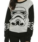 Star Wars Storm trooper Classic Face Licensed Sweater $29.99 USD on eBay