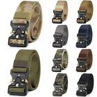 Men's Adjustable Military Buckle Belt Waist Tactical Band Rescue Tool Rigger
