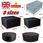 Waterproof Garden Patio Furniture Cover For Rattan Table Cube Seat Outdoor Cover