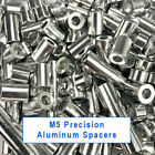Precision M5 Aluminum Spacers 3 6 9 13.2 20 35 40mm Lengths  Spacer Bushing Shim