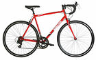 Barracuda Corvus Mens Road Bike Gents 700c Bicycle 14 Speed Shimano 3 Sizes Red