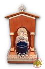 Orthodox Icon Shrine House With Electric Light Bulb Orthodoxe Ikonen Elektrisch