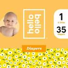 Hello Bello Diapers Jumbo Pack - Soiled Flowers - Size 3 (28ct)