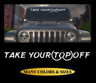 Take Your Top Off Windshield Window Banner Decal Funny Vinyl Sticker Car -4