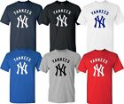 New York YANKEES MLB Graphic UNISEX T-SHIRT Multi Colors S-4XL on Ebay