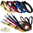 Dog Lead Collar Neoprene Padded Waterproof Comfort Leash 4ft and 6ft Easipet