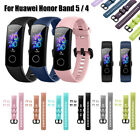 Bracelet Sports Watch Band For Huawei Honor Band 5 4 Replacement Strap Silicone image