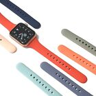 Soft Silicone Narrow / Slim Sport Band for Apple Watch Series 5, 4, 3, 2,1  image