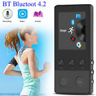 40 Hours Bluetooth MP3 MP4 Lossless Sound Music Player FM Recorder 64GB TF Card