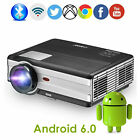 1080P Android LED WiFi Projector Blue-tooth LCD Display Home Theater Proyector