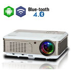 1080P HD Projector Android Blue-tooth Home Theater Multimedia WLAN Online TV App
