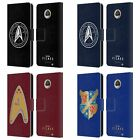 OFFICIAL STAR TREK: PICARD BADGES LEATHER BOOK WALLET CASE FOR MOTOROLA PHONES on eBay