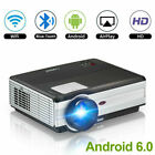 4500lms Home Theater LED Projector Android Blue-tooth Movie Games HDMI HD 1080p