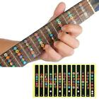 Guitar Scale Stickers For Electric Guitar Colorful New Stickers D3d4