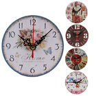 Hot Sale Vintage Wood Wall Clock House Home Office Shabby Chic Antique Style ii