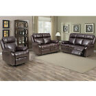 Loveseat Chaise Reclining Couch Recliner Sofa Chair Leather Accent Chair Set SF