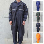 US Motorbike Motorcycle Waterproof Raincoat Rain Suit One-Piece Overalls Work $29.99 USD on eBay