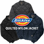 Dickies Diamond Quilted Nylon Jacket Men's Zip Up Fleece Lined Style# 61242