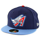 "New Era 59Fifty Anaheim Angels ""Cooperstown"" 1997 Fitted Hat (Dark Navy) MLB Cap"