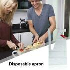 Portable Disposable Polythene Plastic Apron Waterproof Oil And Barbecue C4a5