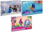 Advent Calendar Christmas Calendar Disney Frozen Star Wars Finding Dory Trolls
